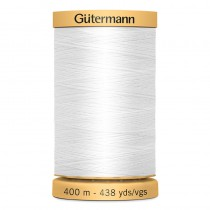 Blanco 400mtrs algodón
